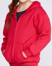 Heavy Blend™ Youth Full Zip Hooded Sweatshirt