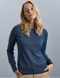 Ladies´ Crew Neck Knitted Pullover