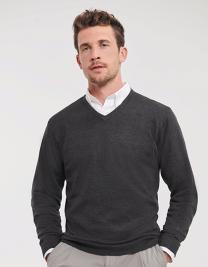 Men´s V-Neck Knitted Pullover